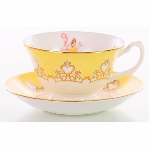 Belle Tea Set From The Disney Princess Teaware Collection